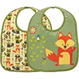 Sugarbooger Mini Bib Gift Set, What Did the Fox Eat, 2 Count