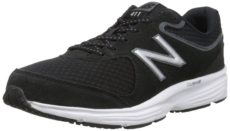 New Balance Men's MW411v2 Walking Shoe Black/Grey