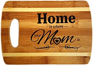 Zoombie Cutting Board for Mom - Home Decor, Home Accents, Grandparent's Day Gift (Mom Cutting Board)