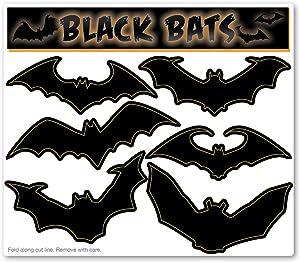 Black Bats Magnet Packs (Small)