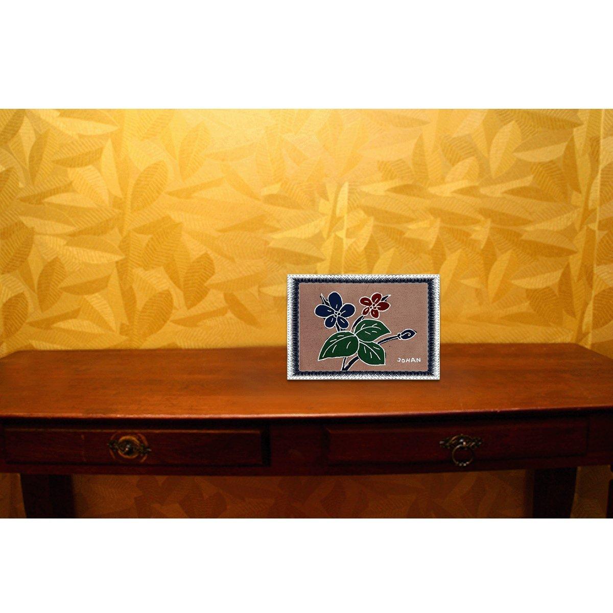 Amazon.com: Fine Batik Batik Art Painting, Flower\' by Johan (15cm x ...