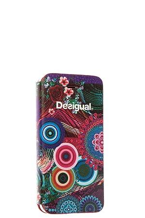 f674edd71e9 Desigual DESFM001 - Funda tipo folio para Apple iPhone 5/5s, diseño rosas:  Amazon.es: Electrónica