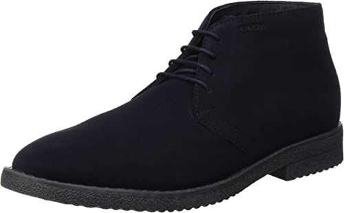 globo Giro de vuelta De todos modos  Geox U Brandled B, Men's Desert Boots, Blue (Navy C4002), 8.5 UK (42.5 EU):  Amazon.co.uk: Shoes & Bags