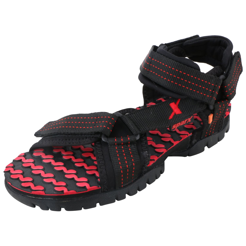 Buy Sparx Men's SS202 Series Black Red