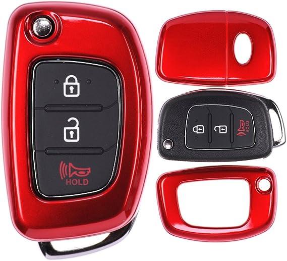 Klapp Schlüssel Cover Hülle Für Hyundai I20 I30 Ix35 Elektronik