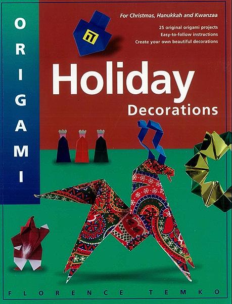 Origami Christmas Trees | 600x459