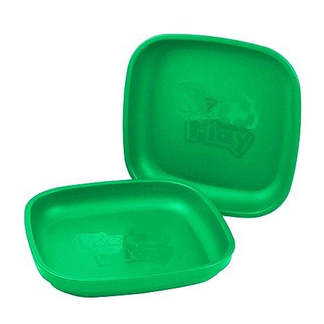 Re-Play - Juego de platos infantiles (3 unidades, sin BPA ...