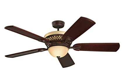Emerson ceiling fans cf440vnb braddock indoor ceiling fan with light and remote 54
