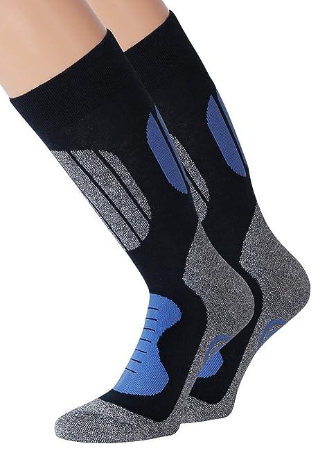kb-Socken - Medias de fútbol - para hombre 2 Paar Blau Normale Länge 35