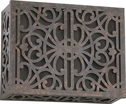 Delicieux Quorum International   7 115 044 Door Chime Cover, Toasted Sienna