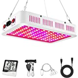 LeFreshinsoft LED Plant Grow Light 1000 Watt, Full Spectrum LED Grow Lights, Daisy Chain LED Grow Light for Indoor…