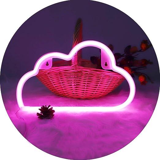 Raumdekoration Tischdekoration LED-Neonlicht-Schild f/ür Party M/ädchen Kinder Accessoire f/ür Luau Sommerparty Hopolon Neonschilder Geschenke Modern Blau // Delfin