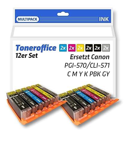 Juego de cartuchos de impresora compatible para Canon Pixma ...