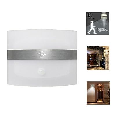 Taoyu Applique Murale Interieur Led Moderne Sans Fil Lampe Detecteur