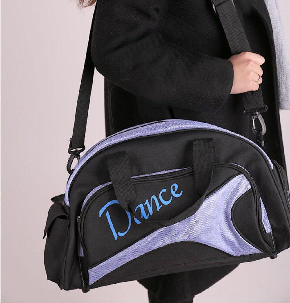 ULLK Bolso De Baile Lentejuelas De Brillo Mujer Ni/ñOs Fit Ballet Yoga Gimnasia
