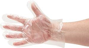 Food Prep Gloves, Food Grade Kitchen Gloves, Polyethylene Disposable Gloves, X-Large, 10000 Pack