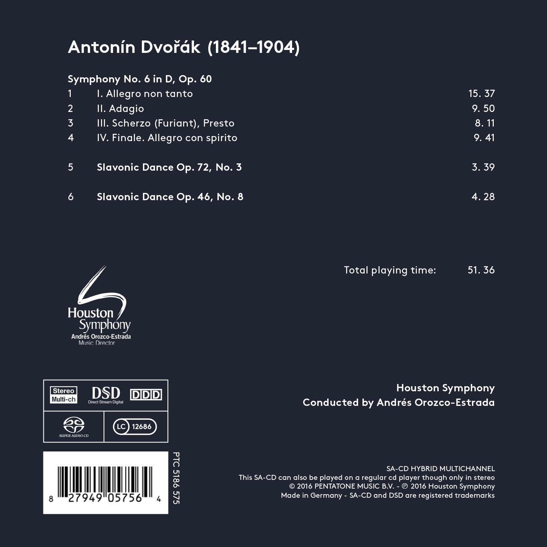 Houston Symphony, Antonín Dvorák, Andrés Orozco-Estrada - Dvorák ...
