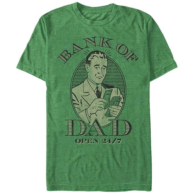 08b07d29 Amazon.com: Lost Gods Men's Bank of Dad T-Shirt: Clothing