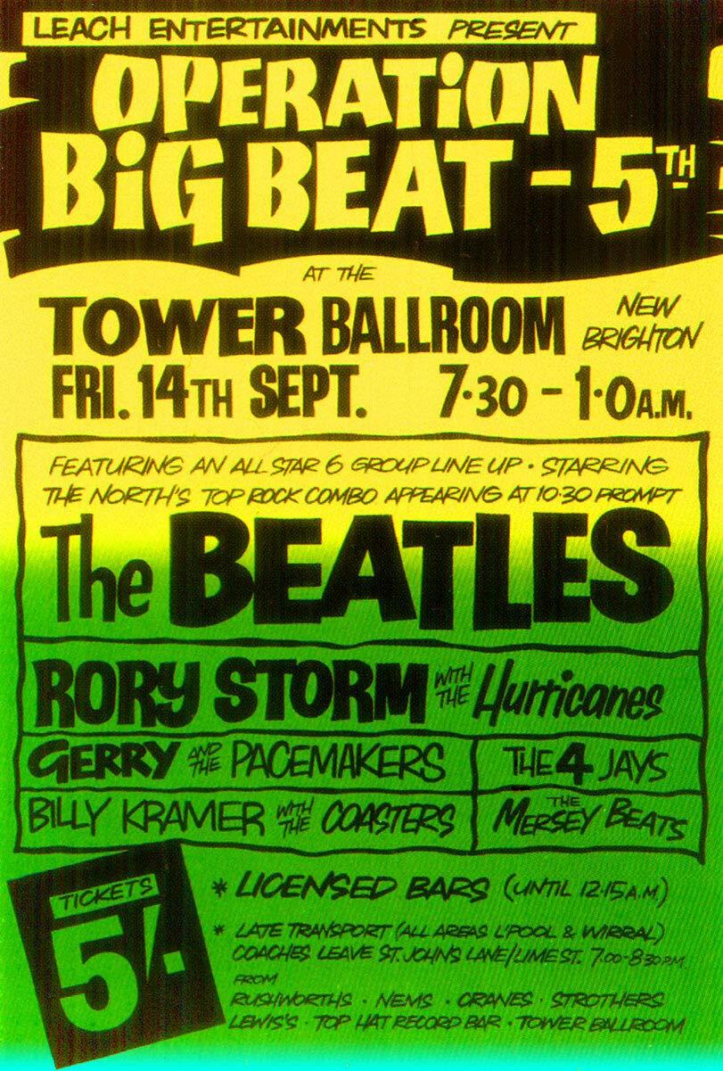 Shunry Beatles Concert Placa Cartel Vintage Estaño Signo ...