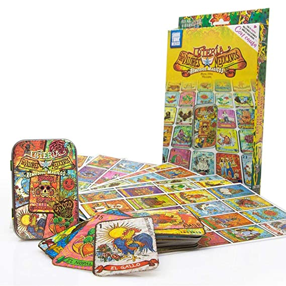 Remedios Magicos Loteria Mexicana modern Mexican Values Edition