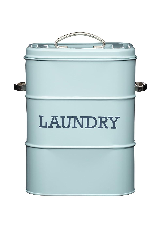 Amazon.com: KitchenCraft Living Nostalgia Vintage Metal Laundry ...