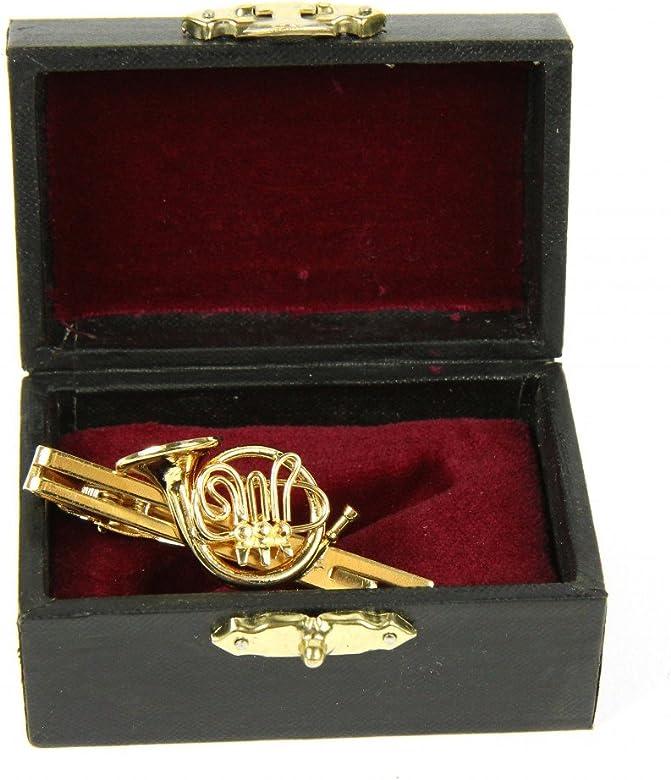 Miniblings música de Viento waldhorn Clip de Corbata Cuadro Clip ...