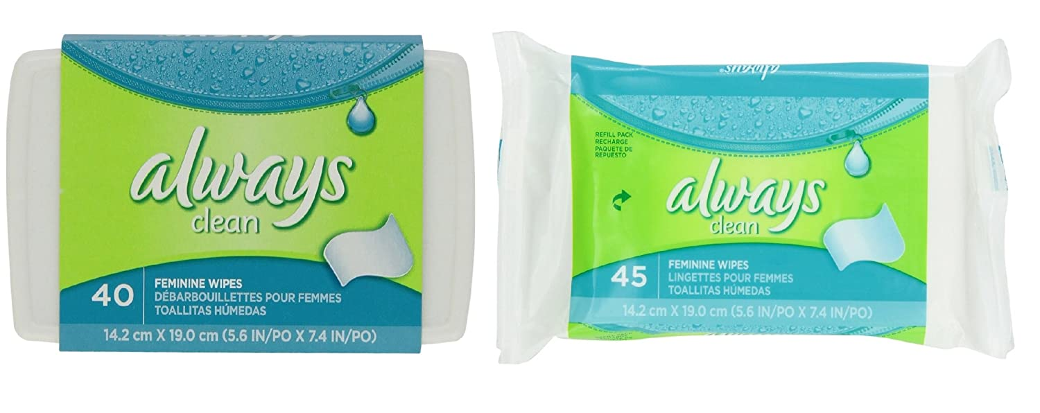Amazon.com: Aways Feminine Wipes Dispenser Plus Refill Wipes: Health & Personal Care