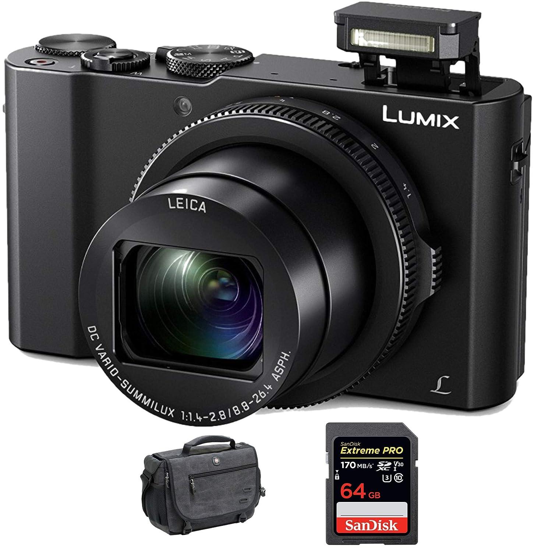 Panasonic Lumix DMC - dmc-lx10 Kバンドル 64GB Bundle  B01MZ2GPG8