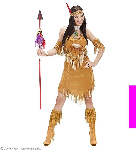76c724a7ede5a Sancto suedelook Indian disfraz de mujer Ladies (Cowboys indios)   Amazon.es  Juguetes y juegos