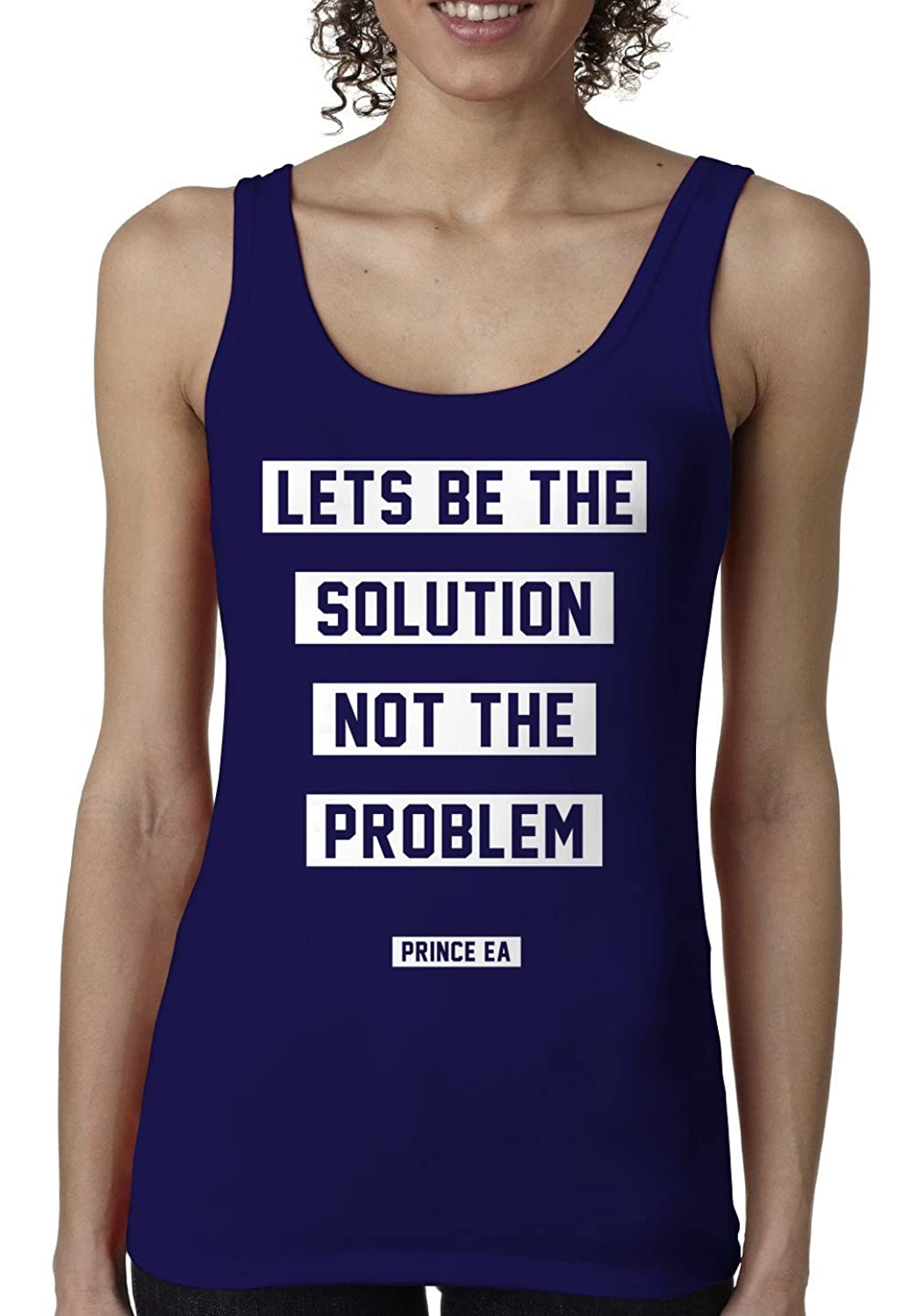 Prince EA Women's Solution Not The Problem Tank-top