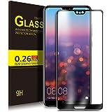 Huawei P20 Schutzfolie, KuGi 9H Panzerglas Hartglas Glas Display Schutzfolie [Blasenfrei] [HD Ultra] [Anti-Kratzer] Displayschutzfolie Displayschutz Screen Protector Für Huawei P20 smartphone. Klar [2 PACK]
