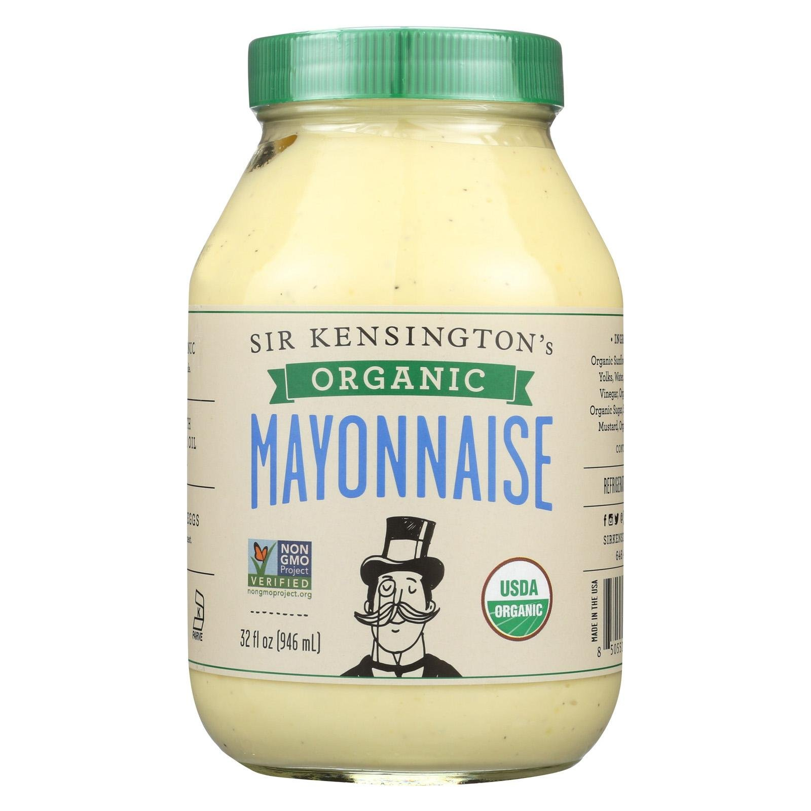 Sir Kensingtons Mayo 6 Pack 32 Ounce Organic