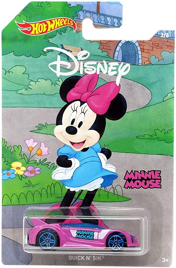 HOT WHEELS 2019 DISNEY 90 YEARS OF MICKEY /& FRIENDS QUICK N/' SIK  MINNIE MOUSE