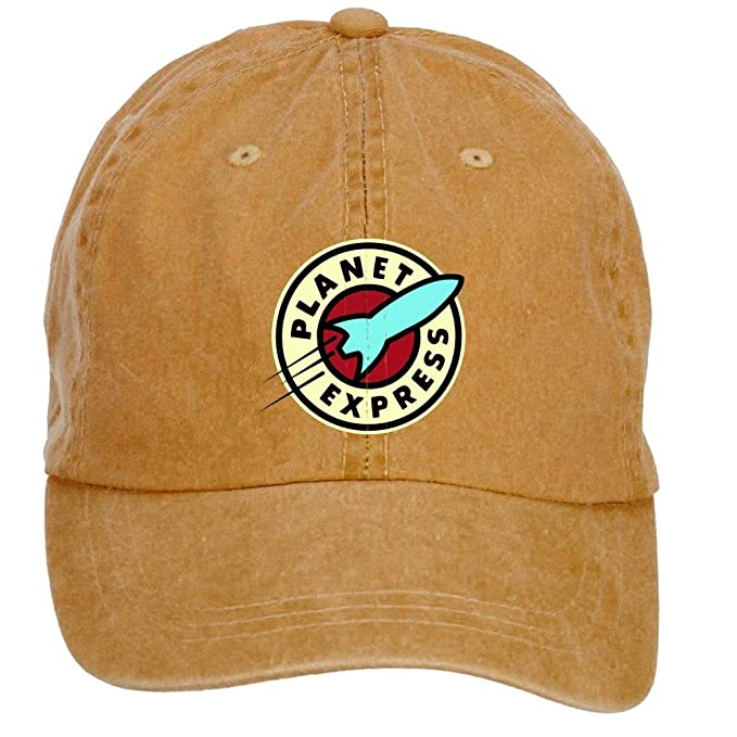 chengxingda Planet Express Futurama algodón lavar Gorra de béisbol  ajustable Plain Hats Caps  Amazon.es  Ropa y accesorios b4b09d08ecd