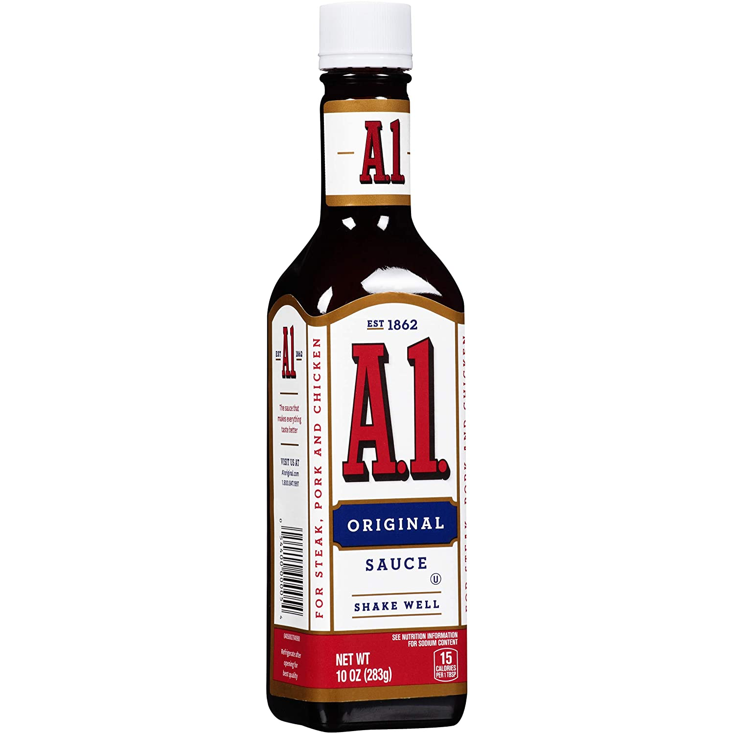 Amazon Com A 1 Original Steak Sauce 10 Oz Bottle Grocery Gourmet Food