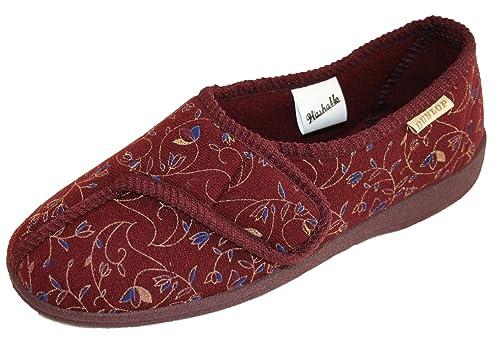 Dunlop - Zapatillas de estar por casa para mujer: Amazon.es: Zapatos y complementos