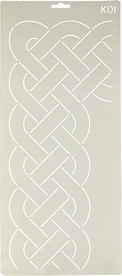 Quilting Creations Cable Border Quilt Stencil 3