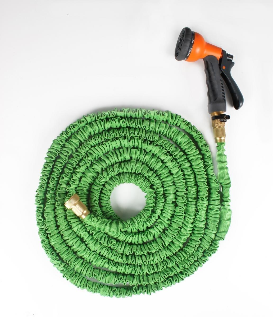 amazon com ohuhu 50 feet expandable garden hose with brass