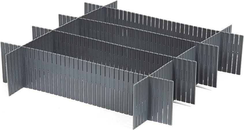 Gris Polipropileno Talla Unica Compactor Separadores Cajon