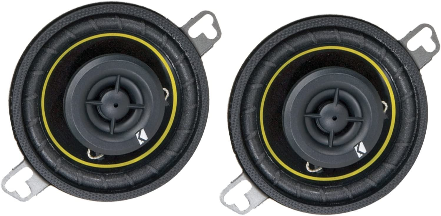 Kicker DS35 3.5 2-Way DS-Series Coaxial Car Speakers