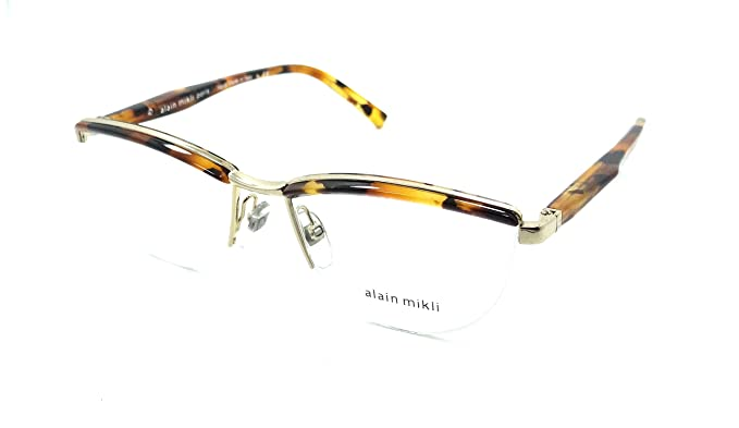 d7ff08d3247 Image Unavailable. Image not available for. Color  Alain Mikli Rx  Eyeglasses Frames A02023 E610 53-16-140 ...