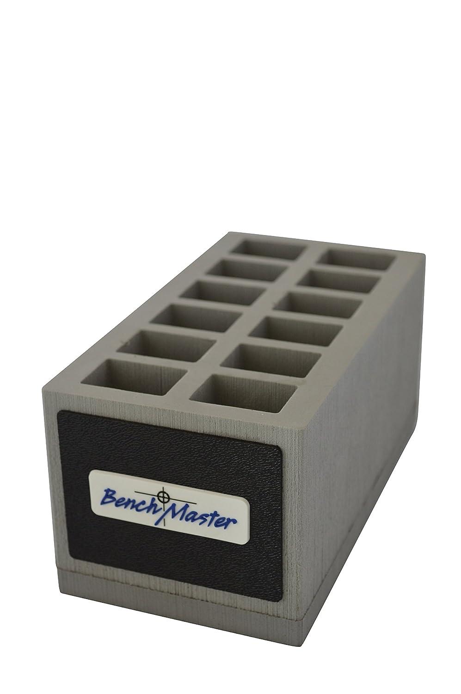 Benchmaster - Weapon Rack - Double Stack 9mm Magazine Rack - 12 Unit - Gun Safe Storage Accessories - Pistol Mag Storage