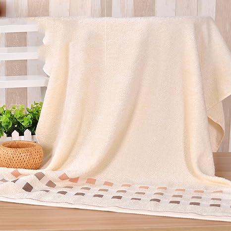 Engrosamiento toalla grande de baño de bambú pulpa de fibra de toallas de baño para adultos