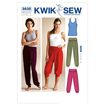 KWIK-SEW PATTERNS Kwik Sew Mustern K3835 Größe XS/S/M/L/XL TOP und ...