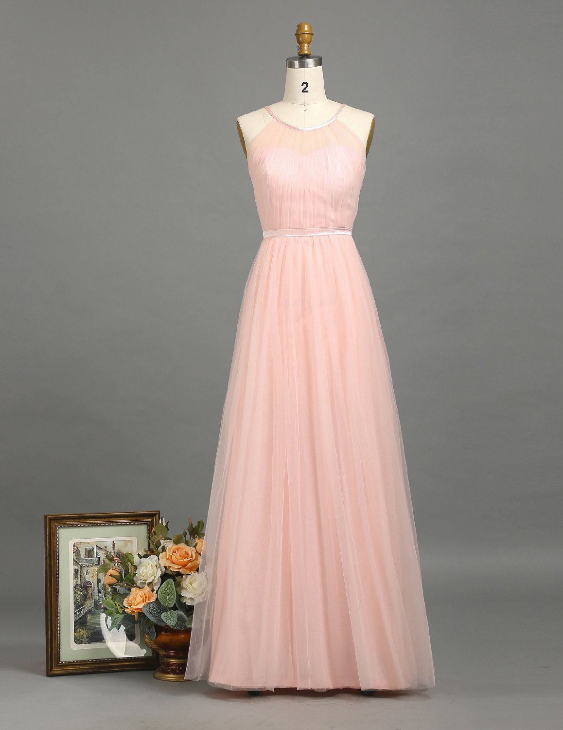 e27bc6784 ☆Note:this blush dress can be made in Any color of your choice.  ━━━━━━━○ITEM INFORMATION○━━━━━━━━━━━━ MATERIAL : Chiffon COLOR ...