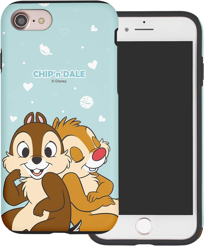 Amazon Com Iphone 6s Iphone 6 Case Cute Layered Hybrid Tpu Pc Bumper Cover For Iphone6s Iphone6 4 7inch Case Love Chip Dale