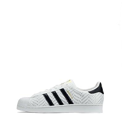 arrives 8cd03 ddfe0 adidas Originals Superstar Woven Shell Toe Mens Trainers (UK ...