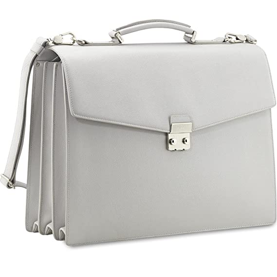 09b5d16be89d3 Picard Damen Tasche Leder Aktentasche Laptoptasche Soho Kiesel 8586   Amazon.de  Bekleidung