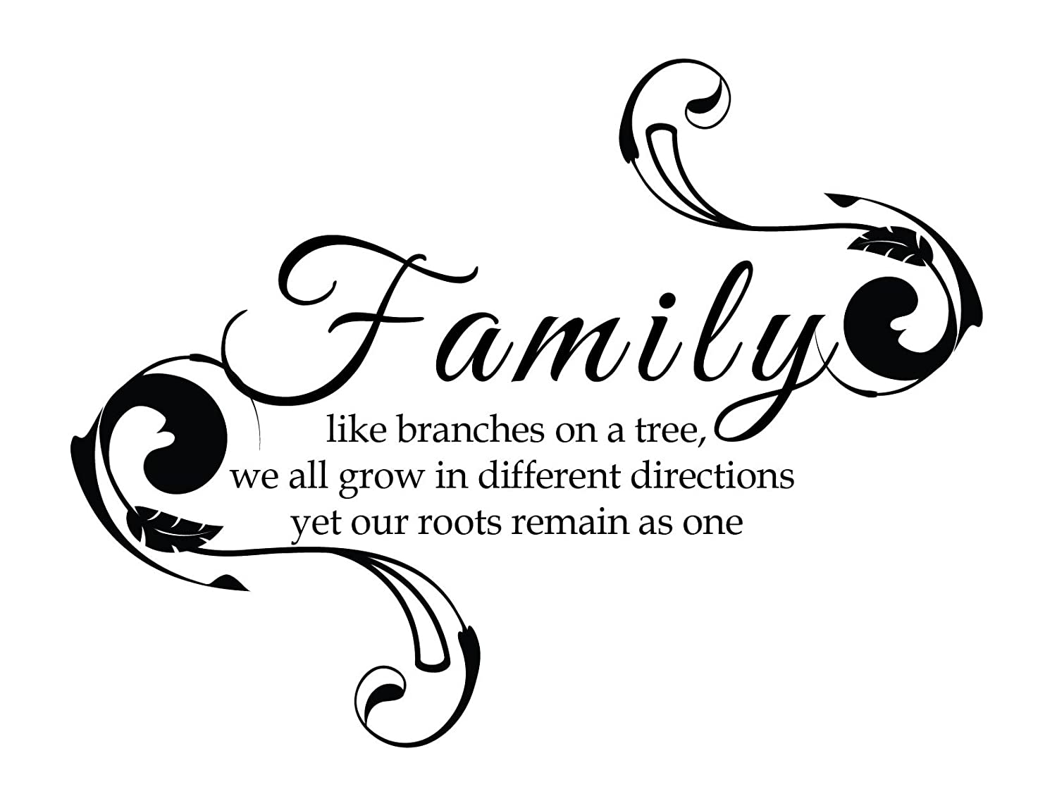 Amazoncom Newclew Family Like Branches On A Tree We All Grow In