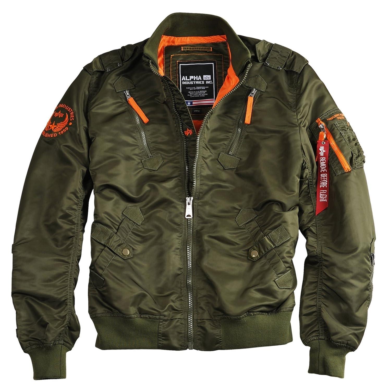 6dd224172 Alpha Industries Falcon II Jacket Green